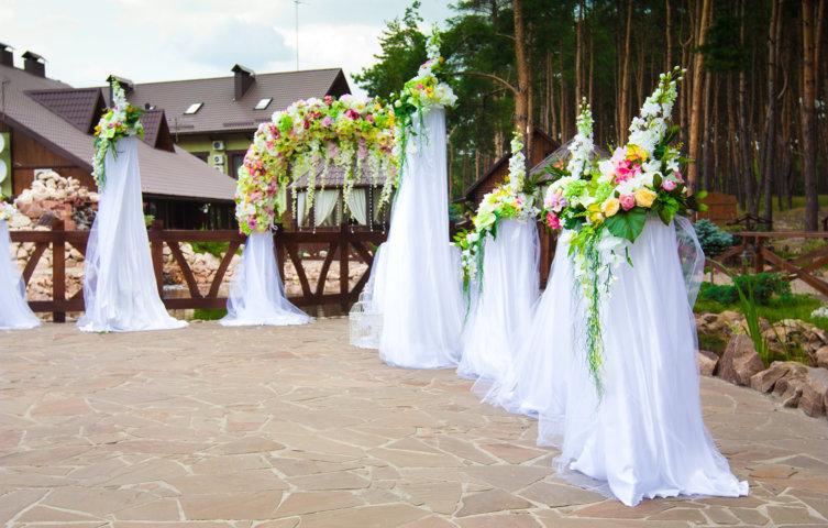 Аренда арки на Свадьбу